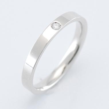 $沖縄で婚約&結婚指輪の上手な見つけ方-沖縄 結婚指輪 婚約指輪 シンプル1