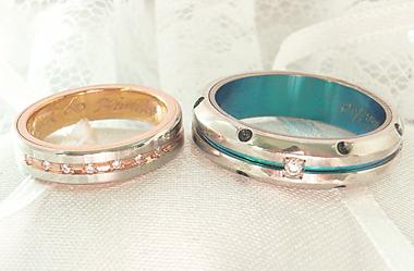 $沖縄で婚約&結婚指輪の上手な見つけ方-沖縄 結婚指輪 チタン ミンサー