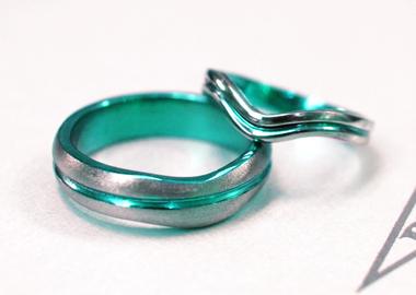 $結婚指輪&婚約指輪の沖縄で上手な見つけ方-オーダー 結婚指輪 チタン チタンカラー