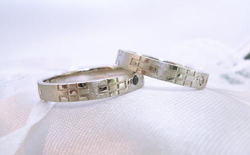 沖縄婚約結婚指輪00023