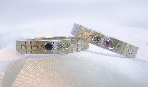 沖縄婚約結婚指輪00024