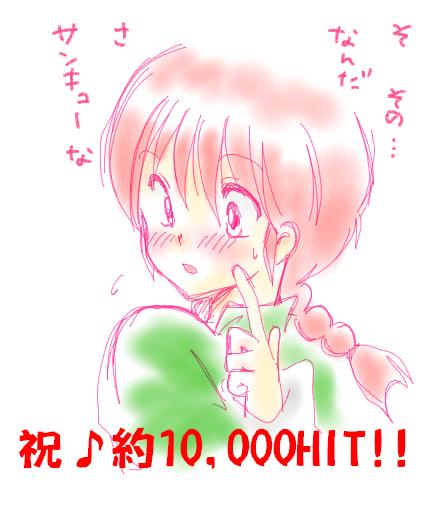 祝☆1万hit