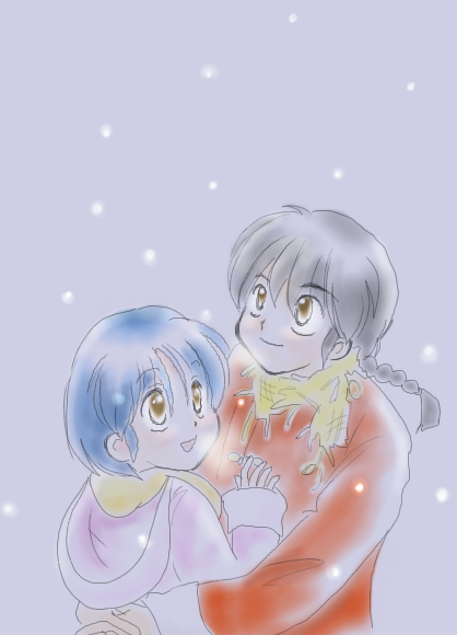 ラクガキ置き場●仮●-雪の中