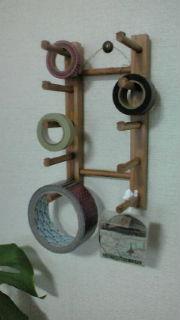 マスキングテープホルダー