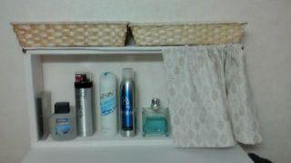 洗面所収納棚1