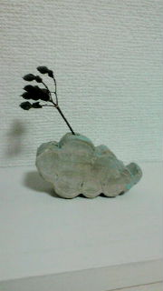雲のオブジェ