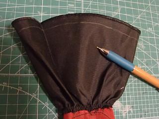 工程2:裾をつめる