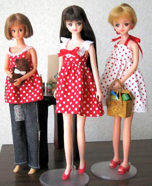 ドットワンピース3人娘。