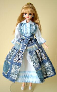 PH風ブルー系ドレス