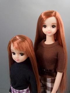 赤茶髪姉妹。