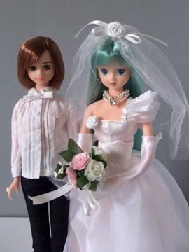 不思議な結婚式?