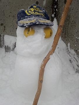 ひろし雪だるま