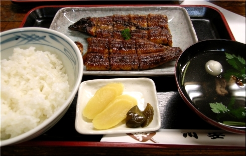 川安 長焼定食