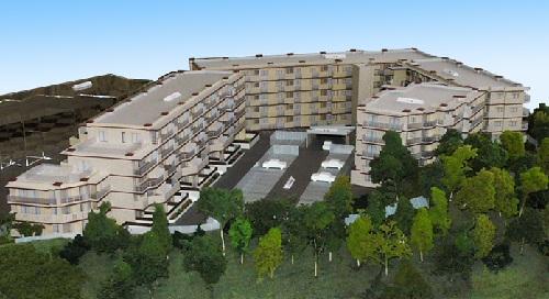 ミニチュア住宅:マンション模型