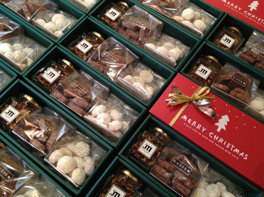 クリスマス焼菓子BOX