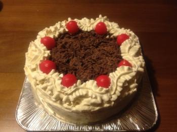 バタークリームチョコケーキ(レーズンサンド)