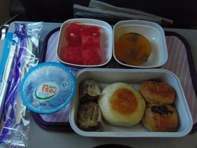 中国東方航空~機内食~