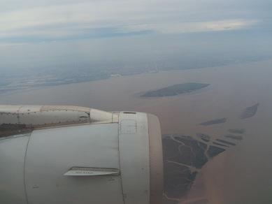 上海虹橋国際空港~着陸2~