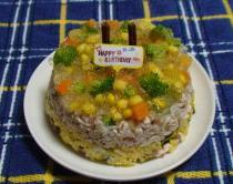 御飯ケーキ しん2歳.JPG