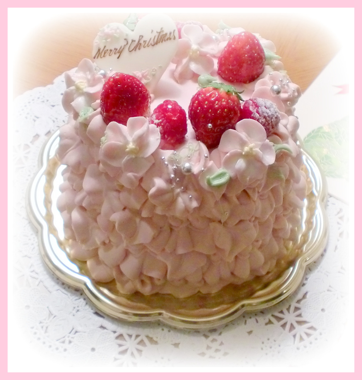 12月24日 クリスマスケーキ-1