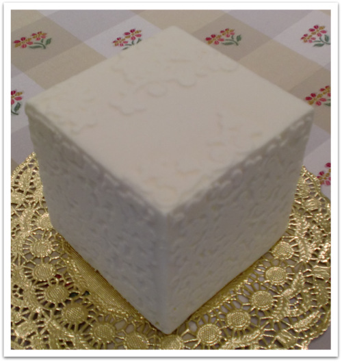 1月12日ホワイトケーキ