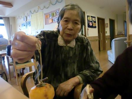 H24ナベと干し柿 (2)