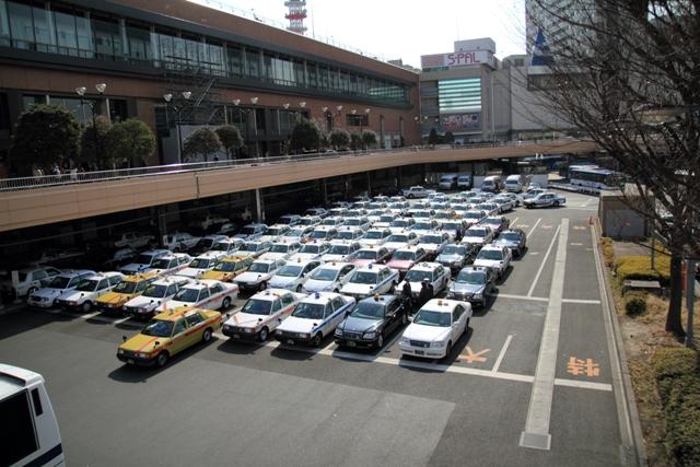 仙台駅タクシープール