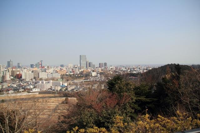 青葉城からの眺め
