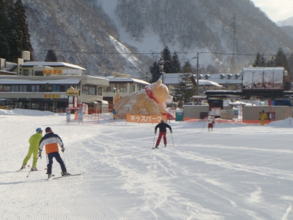 銀嶺会スキー一里野スキー場