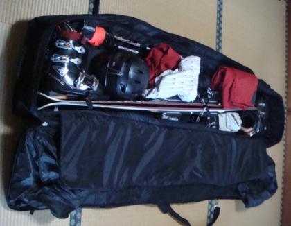 スキーバッグ