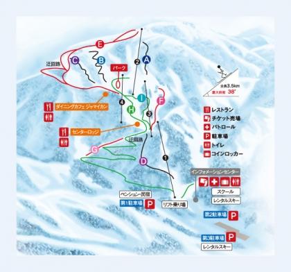 白山セイモア・スキー場