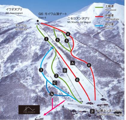 ニセコモイワ・スキー場