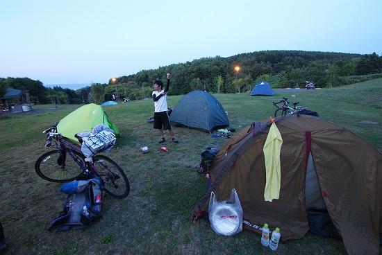 利尻島 ふれあい サイクリング 42