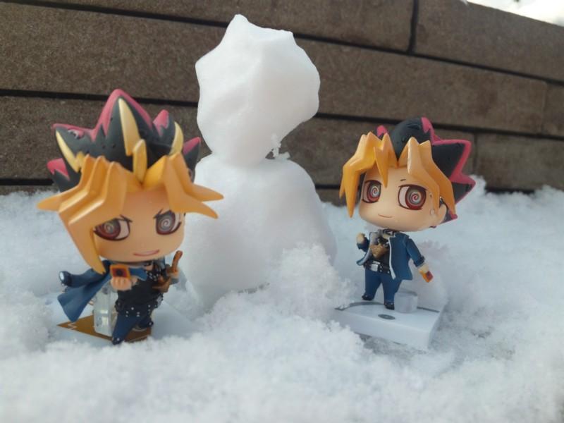 雪だるまの頭…
