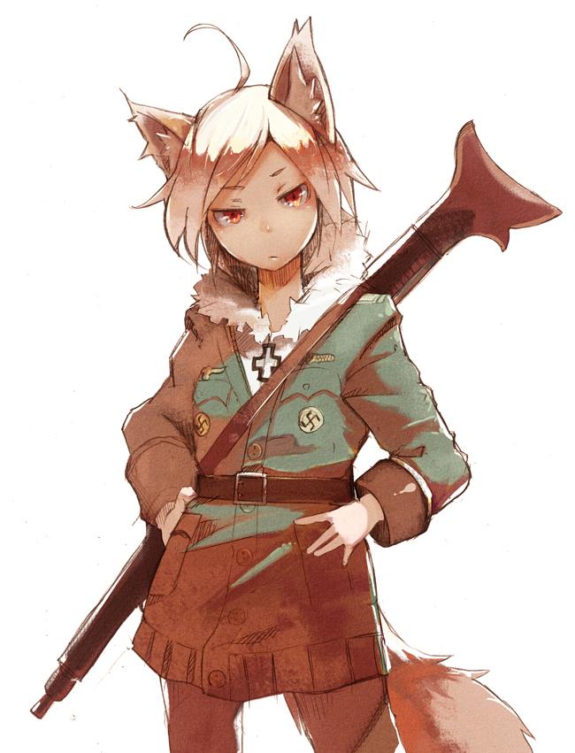 武装ケモミミ