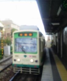 セラミックのブログ-都電荒川線