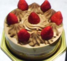 セラミックのブログ-チョコケーキ