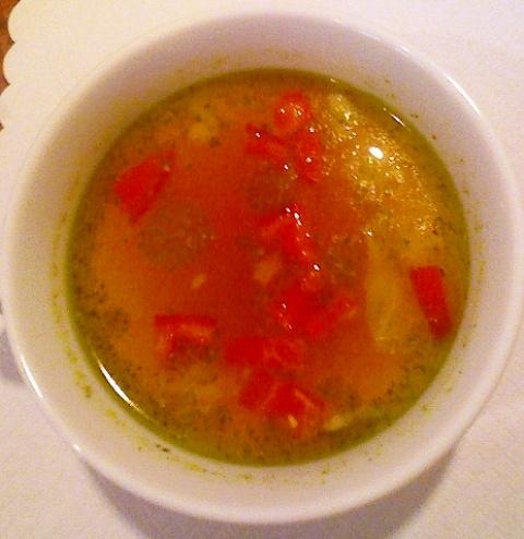 セラミックのブログ・第二章-スープ(ミネストローネ・バジル)