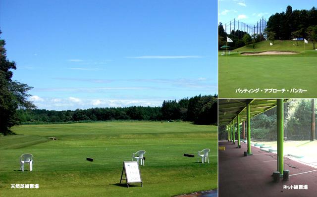 ファイブエイトゴルフクラブ 天然芝練習場