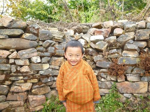 シンカル村で会った少年