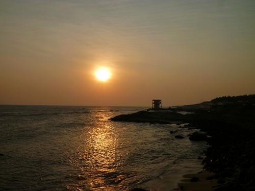 コモリン岬の夕日