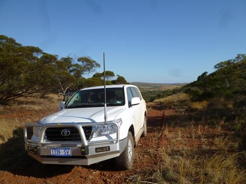 オーストラリア内陸部を4WDで駆け巡ります