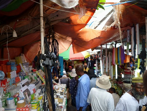 モロニの市場