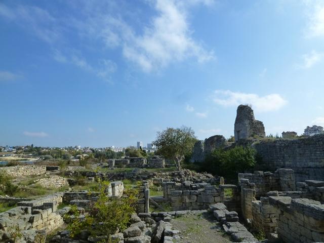 ヘルソネス ギリシャ時代の遺跡2