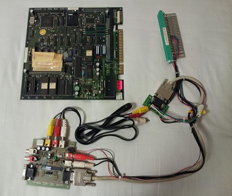 ROM基板と録画基板