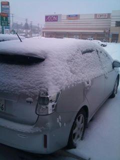 雪の仙台!