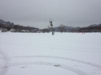 雪景色:こんな所でがんばっています
