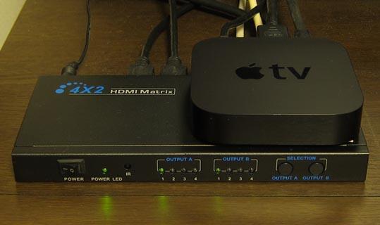 Apple TV_HDMI Matrix