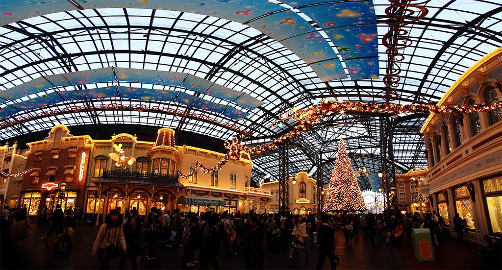 ワールドバザール 30thのクリスマス(プレイス)(ワールドバザール)(東京ディズニーランド)