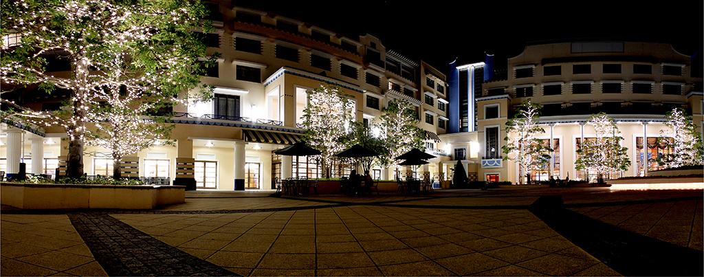 夜のディズニーアンバサダーホテル